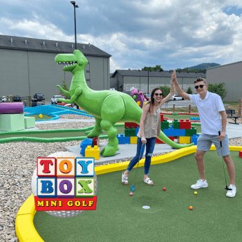 Toy Box Mini Golf- Pigeon Forge's Newest Attraction